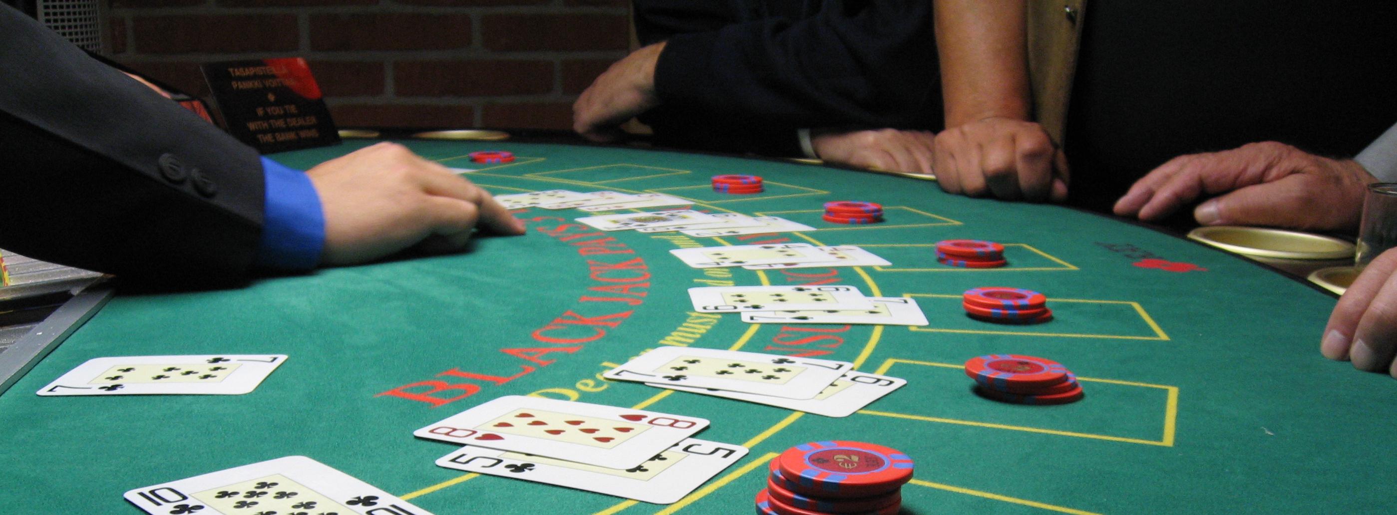 Blackjack y poker son lo mismo